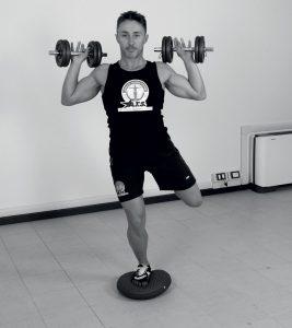 Training Balance Esercizio con i pesi